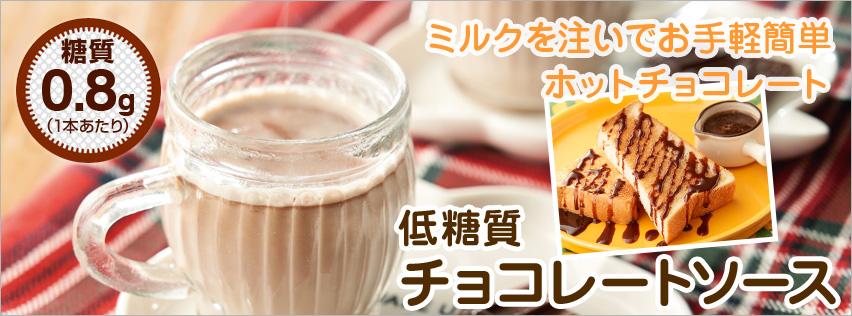 低糖質チョコレートソース