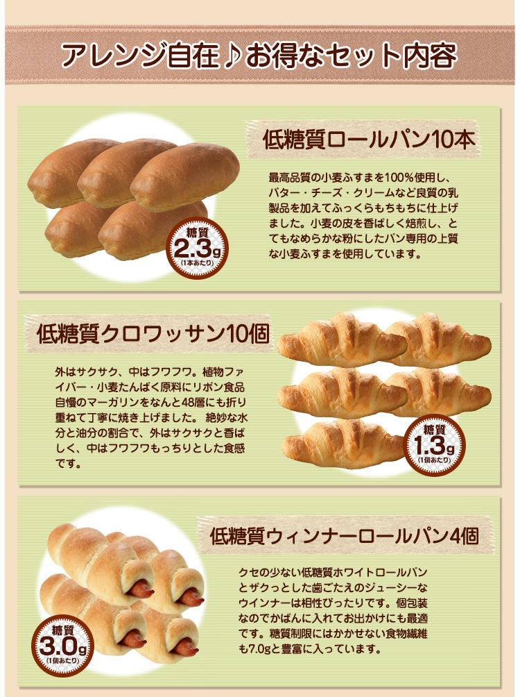 低糖質パン特盛りお買い得セット2