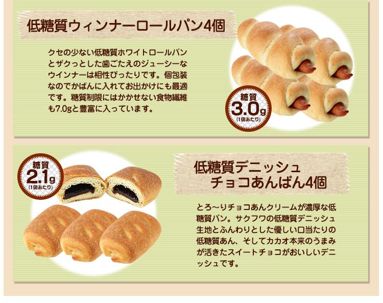 低糖質パン特盛りお買い得セット3