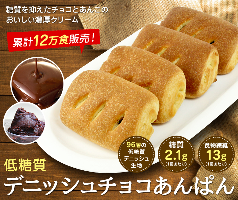 低糖質塩パン