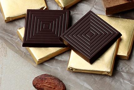 チョコ本来の繊細な苦味と上品な味わい