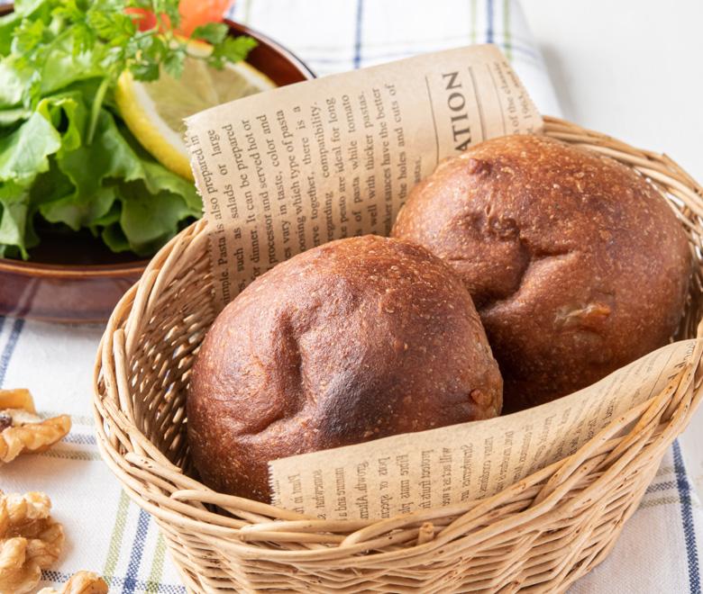 糖質オフ ふんわりブランパン くるみ