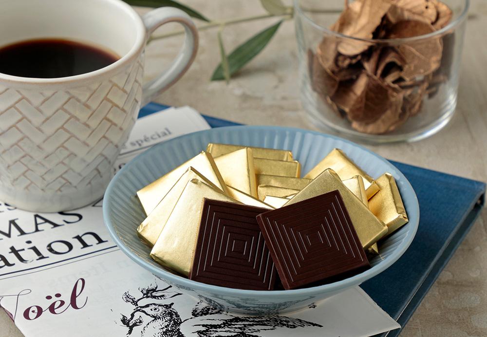 糖質オフ ハイカカオ70%チョコキャレタイプ 48枚ボックス入とはとは